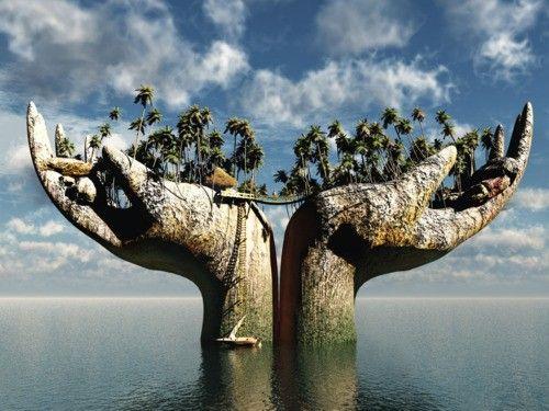 Bali .hands