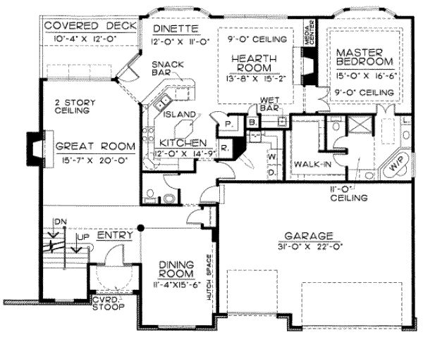 House Plans Traditional Styles Floor House Monster House Main Floor