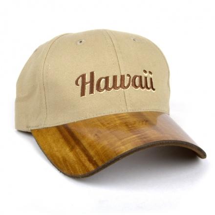 Koa Baseball Cap Made With Koa Wood From Hawaii And 100