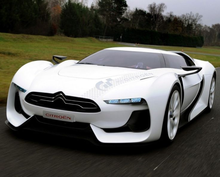 This Car Tho Sporty Futuristic Citroen GT Concept