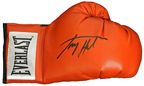 Larry Holmes Signed Everlast Red Boxing Glove -- Click on the image for additional details.