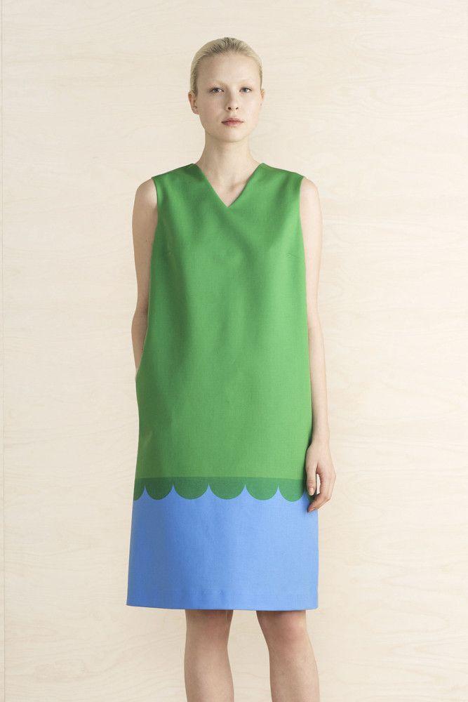 Marimekko Raila Dress Green/Blue