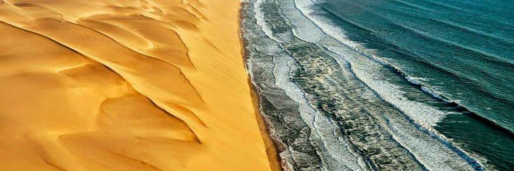 Пустыня Намиб.  Причины образования пустыни на берегу Атлантического океана. Намиб на карте.