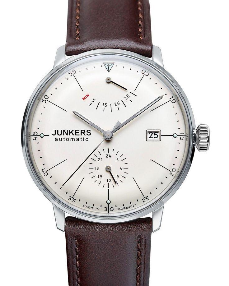 Erschwingliche deutsche Uhr mit Gangreserveanzeige: Junkers Bauhaus » Das Uhren Portal: Watchtime.net