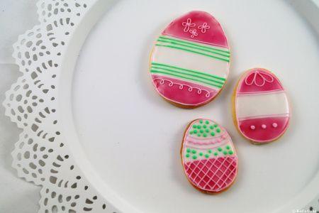 Zucker Cookies mit Royal Icing, Backen, Ostern, Anleitung und Rezept