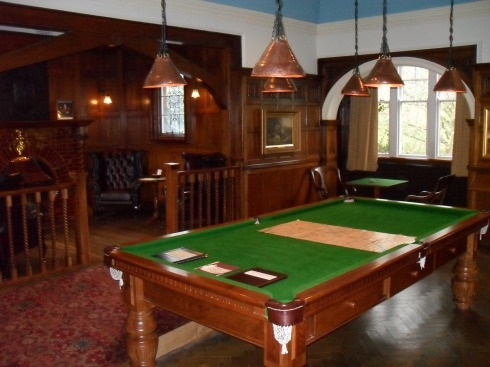 Billiards Room: Bantock House