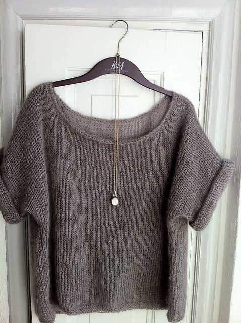 Ravelry: GreenYarnBasket's My first sweater for me: Slouchy.