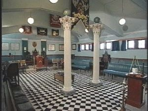 Wooton-under-Edge freemason's lodge