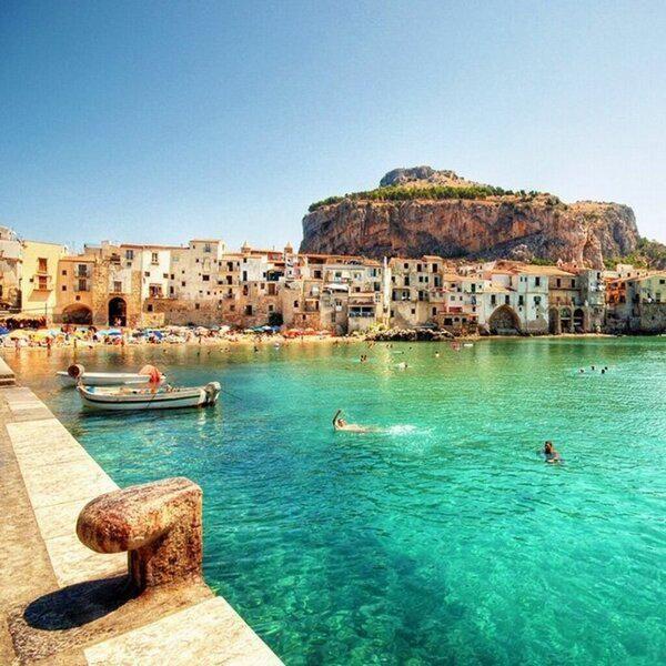 Sicilya, İtalya.