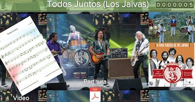 PARTITURAS A TU DISPOSICIÓN: TODOS JUNTOS (LOS JAIVAS)