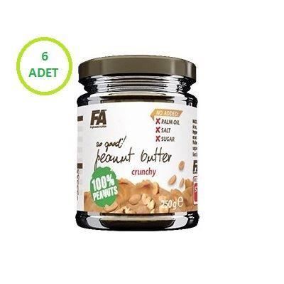 FA Nutrition %100 Yer Fıstığı Ezmesi 250gr x 6 Adet