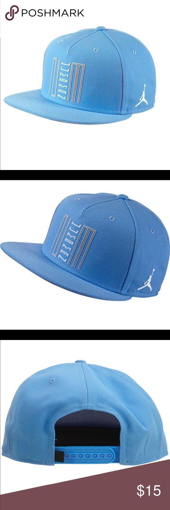 JORDAN Adult Unisex SnapBack Jordan OS-Adult  Brand New Baby Blue Jordan Accessories Hats