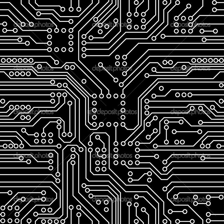 black circuit board wiring - photo #43