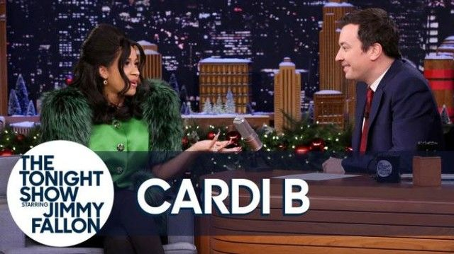 Cardi B is making another milestone this time in TV history. The 'Bodak Yellow' hitmaker is set to become the first co-host of Jimmy Fallon on the Tonight Show.  While promoting her debut album 'Invasion of Privacy' she will be taking over the set on Monday April 9. Cardi will be the night's musical entertainment and she will sit with Fallon while they chat with other to-be-announced guests in an hour-long episode.  It will be her third time on the New York set. Her first time was back i…