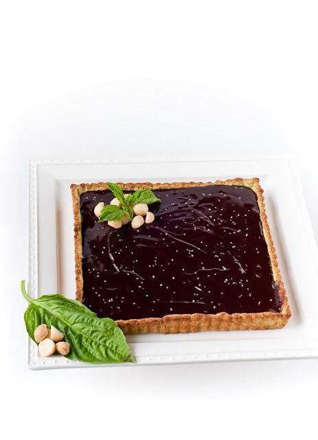 of basil, macadamia nut, olive oil, sea salt, and dark chocolate ...