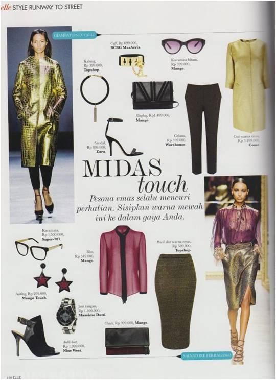 ELLE Magazine - November 2012