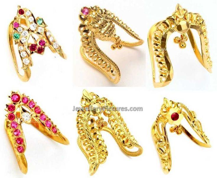 Gold Vanki ring designs