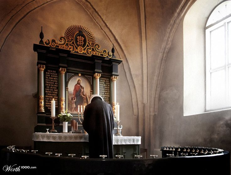 Silent prayer - Worth1000 Contests