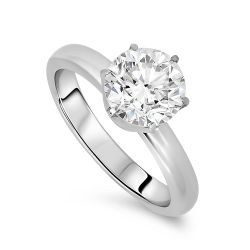 2.09ct Diamond Solitaire Ring