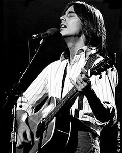 """Jackson Browne  Played the grooves right off of """"For Everyman""""."""