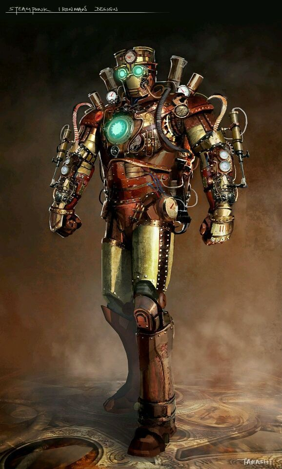 The Mans Guide To Steampunk Clothing Steampunk Artwork