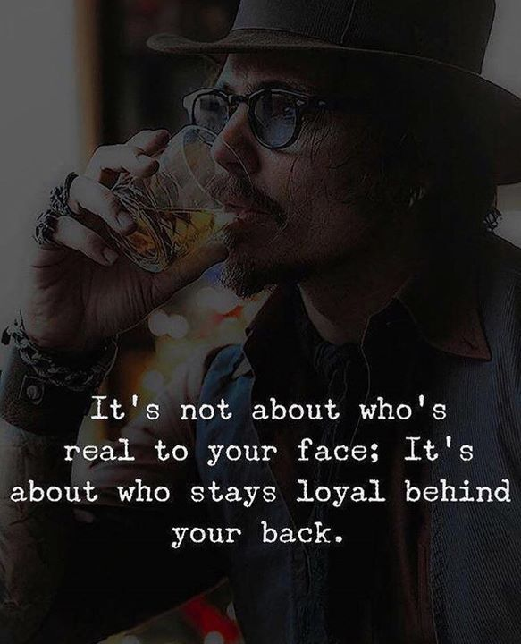 Its not about whos real to your face.. via (http://ift.tt/2EcTd2l)