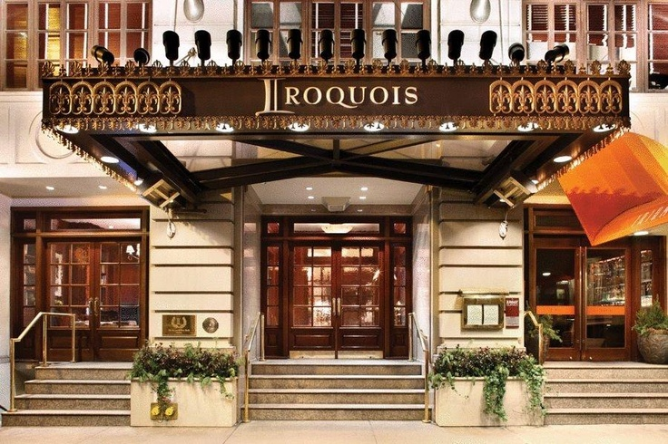 Booking.com : Hotel The Iroquois New York , New York City, United States of America - 261 Guest reviews . Book your hotel now!