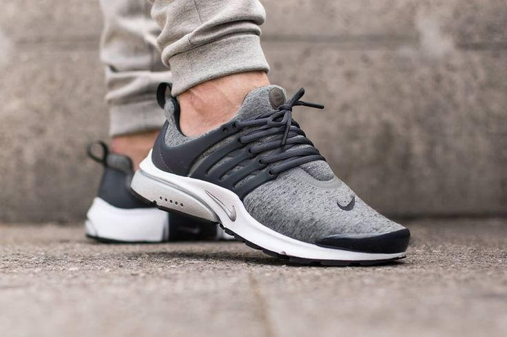 Nike Presto grey fleece