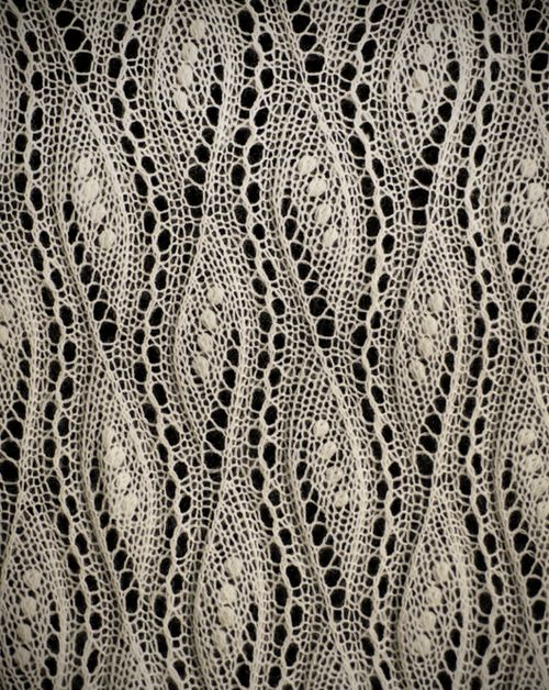 patternbase: Estonia knitted lace via lacebuttons.com