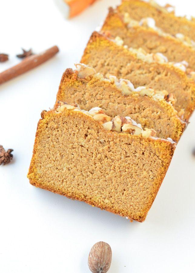 Keto Pumpkin Bread With Almond Flour Easy Moist Gluten