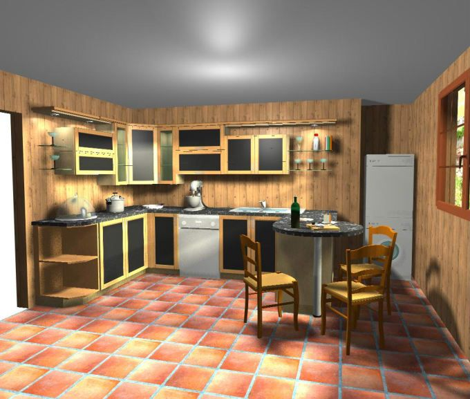Design Your Kitchen By Autocad 2d 3d