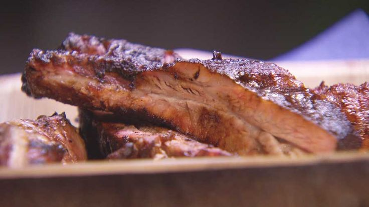 Hickory and Coffee Ribs - Winning spice rub and bbq sauce from Masterchef AU
