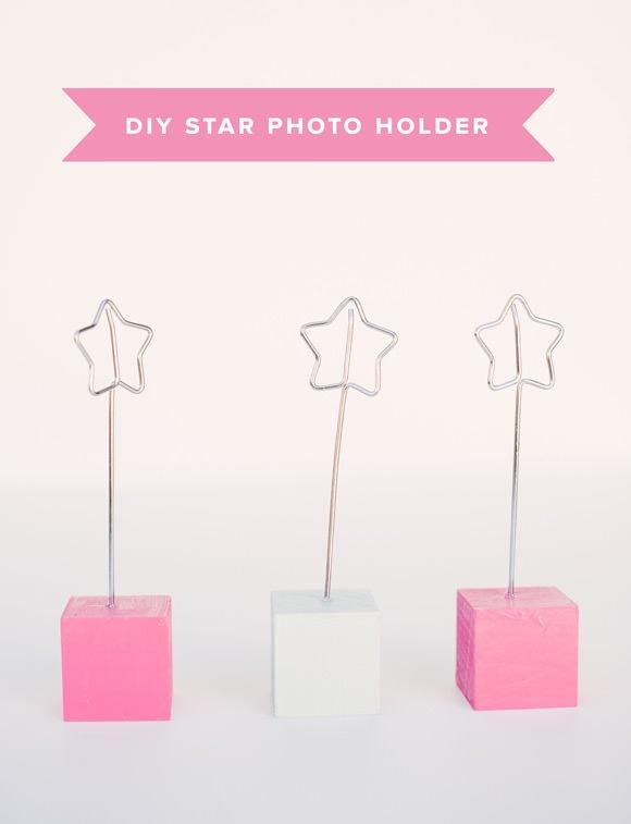 DIY Wire Star Photo Holder Tutorial