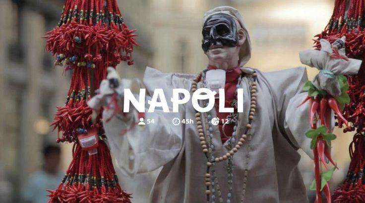 "∙ Pocket Project ∙ Napoli ∙ taly Tour ∙ Prima Tappa ∙ Napoli ∙ iPhone Camera   ∙ 54 interviews ∙ 45h ∙ 12 pizzas ∙   ∙ soon pocket interviews on www.pocketproject.net ∙  ""Zuoccole, tammorre e ffemmene, chi è nato a Napule 'ce vo' murì"" ∙ Totò  http://www.youtube.com/watch?v=2n1_rfdK0w8"