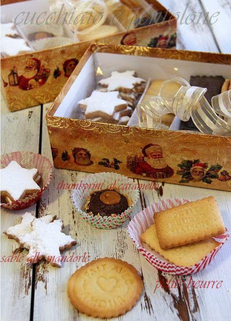 thumbprint al caramello salato, petit beurre, sableè alle mandorle, arancia e carote, biscotti per tutti i gusti per ...