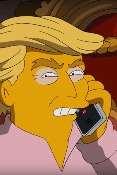 Die Simpsons bereuen in einem neuen Video ihre Trump-Vorhersage