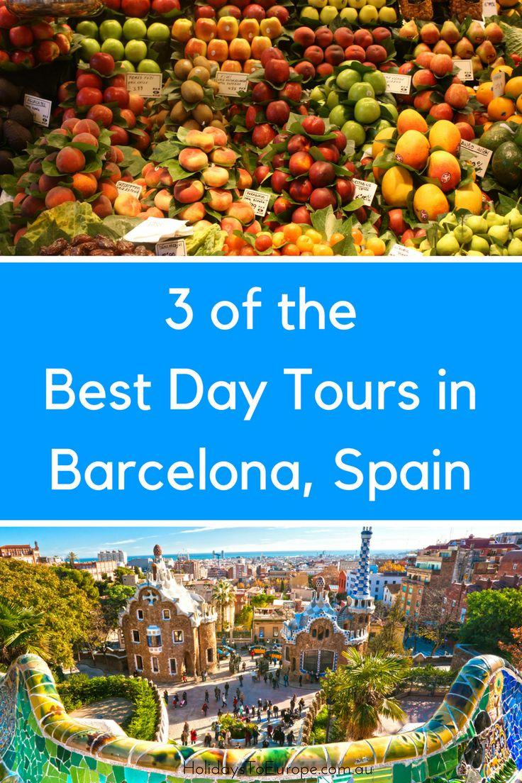 Get the most out of your visit to Barcelona by taking a day tour. A well-informed tour guide can provide great tips about what to see and where to eat in Barcelona. In this article we share three of the best day tours in Barcelona, Spain. // Barcelona walking tours // Barcelona food tours // Barcelona audio tours #daytours #barcelona