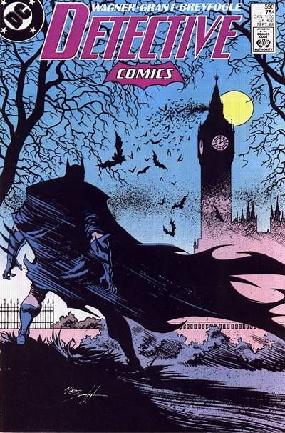 This is probably one of my favorite batman covers, although there are many to choose from. Breyfogle is a beast.