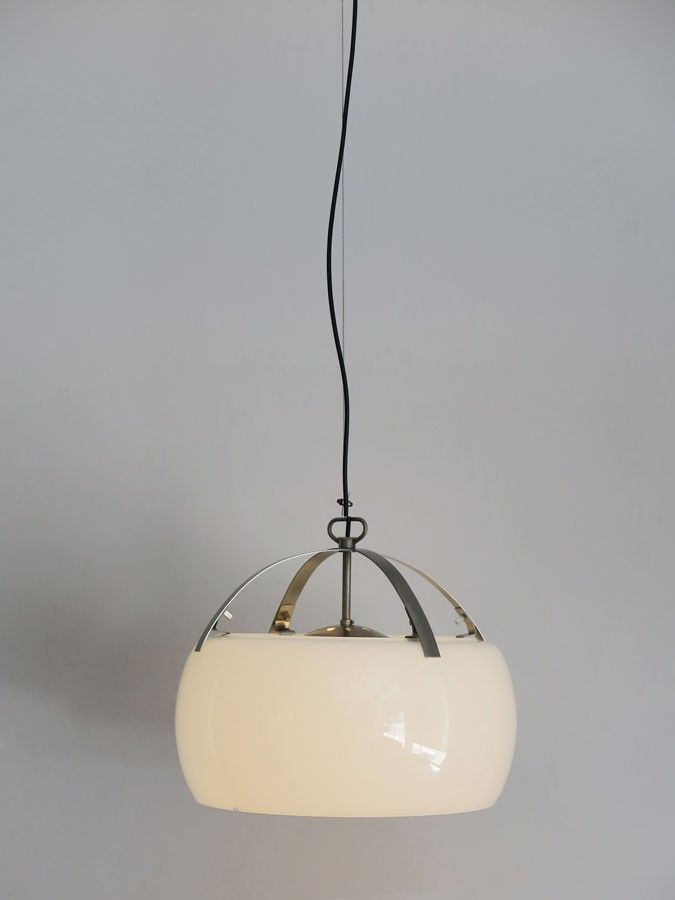 Vico Magistretti Omega Artemide Italy 1961 Lampada Vintage Lampade A Sospensione Lampade