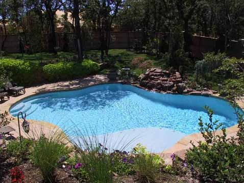 beach entry swimming pools | Inground Swimming Pools Oklahoma City (OKC) | Blue Haven Pools - Blue ...