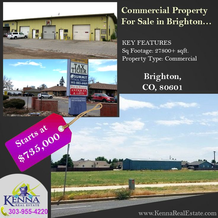 Commercial Property for Sale in Brighton www.KennaRealEstate.com #Home, #Forsale, #Property