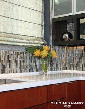 Horizontal Glass Tile Backsplash 46 best handmade glass tile (studio v189) images on pinterest