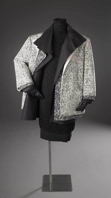 """Image """"Noir - Blanc"""", nr. 4, suit, Per Spook, 1986"""