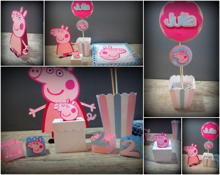 Kit Econômico Peppa Pig - 182 itens | Paperíca | Elo7