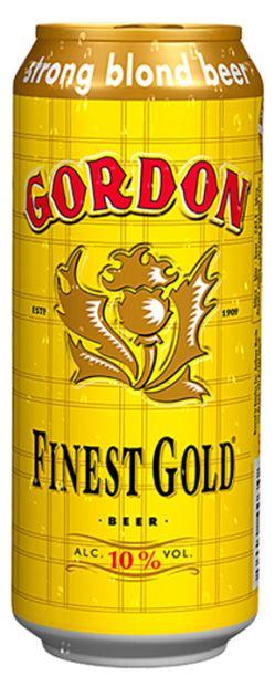 Gordon Finest Gold boîtes - Par ordre alphabétique - Bières écossaises - Bières et Cidres - 54004030 - Alloboissons