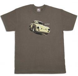 Felix Petrol Porsche 356 car t-shirt olive green