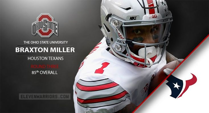 Braxton Miller drafted by Houston.