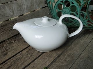 Russel Wright White Teapot
