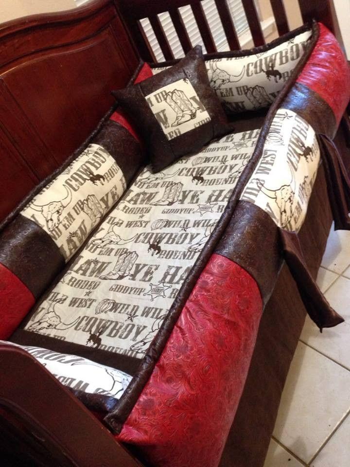 The Duke Custom Western Cowboy baby bedding for your nursery