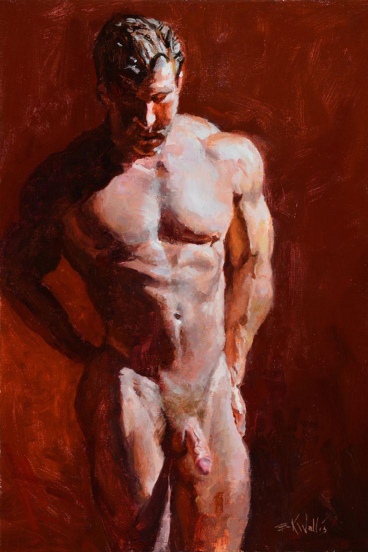 "ewallisartist: ""Nude Man - Eric Wallis Patreon """
